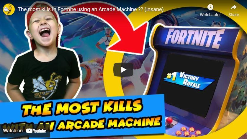 Fortnite Arcade Machine