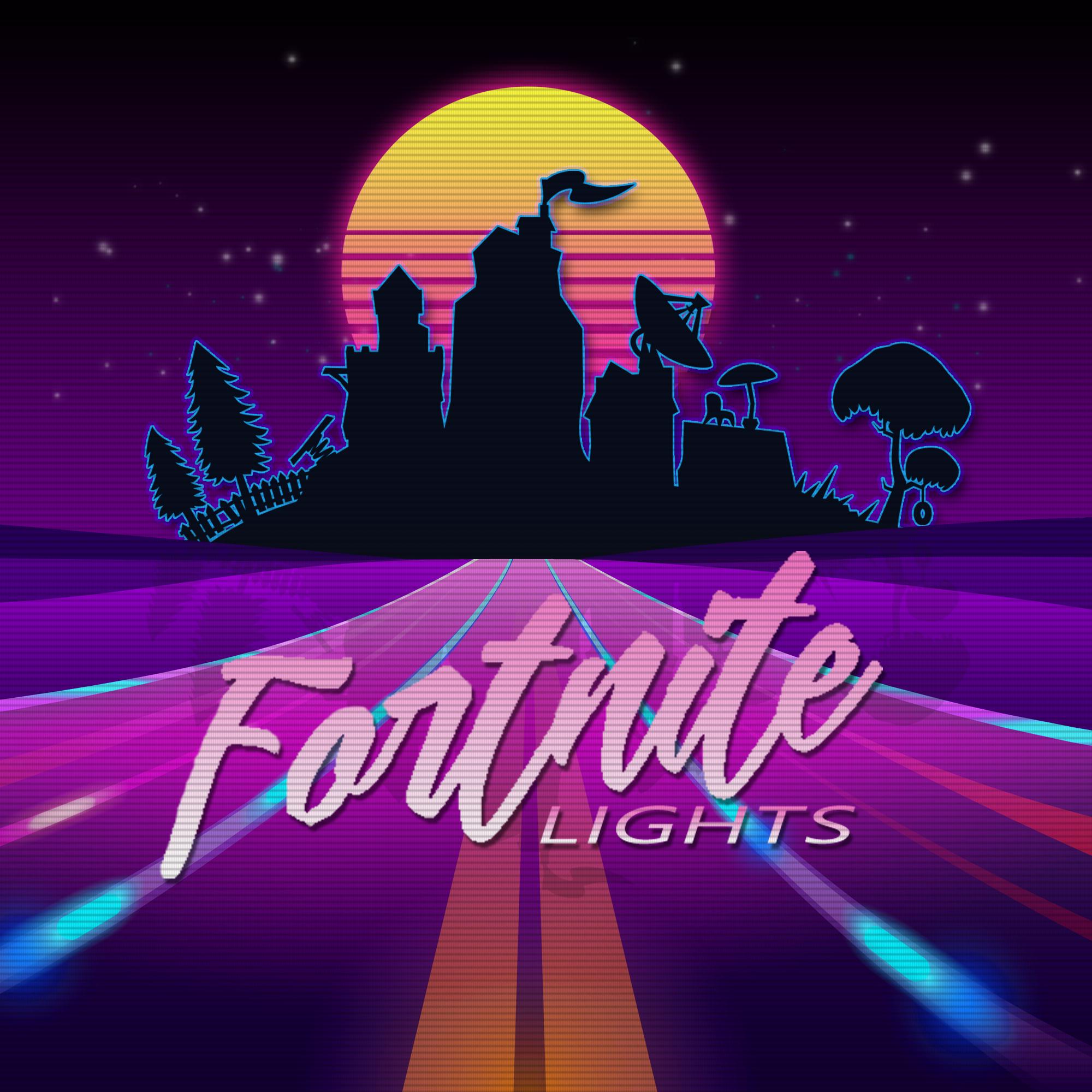 Fortnite lights - Blinding Lights